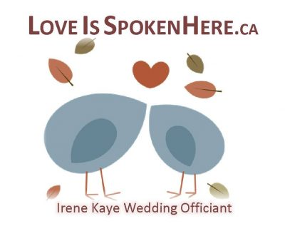Irene Kaye Wedding Officiant