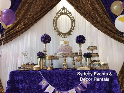 Sydney Events & Decor Rental